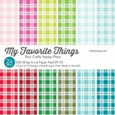 My Favorite Things - Gift Wrap Paper Pad