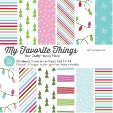 My Favorite Things - Christmas Cheer Paper Pad