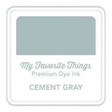My Favorite Things - Premium Dye Ink Cube Cement Gray
