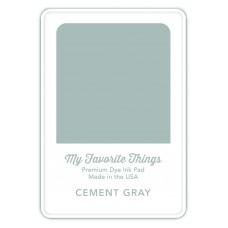 My Favorite Things - Premium Dye Ink Pad Cement Gray
