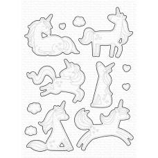 My Favorite Things - Friendly Unicorns Die-namics