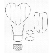My Favorite Things - Heart Air Balloon Die-namics