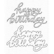 My Favorite Things - Happy Birthday Die-namics