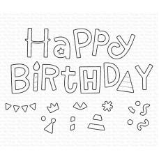 My Favorite Things - Happy Birthday Party Die-namics