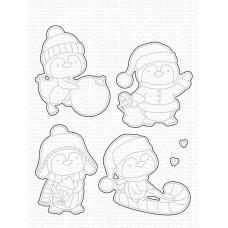 My Favorite Things - It's Penguining to Look a Lot Like Christmas Die-namics