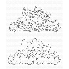 My Favorite Things - Merry Christmas Die-namics