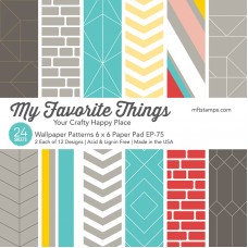 My Favorite Things - Wallpaper Patterns Paper Pad