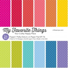 My Favorite Things - Poppin' Polka Dots Paper Pad