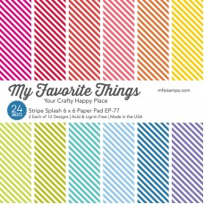 My Favorite Things - Stripe Splash Paper Pad