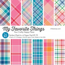 My Favorite Things - MSTN Perfect Plaid Paper Pad