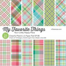 My Favorite Things - Cheerful Plaid Paper Pad