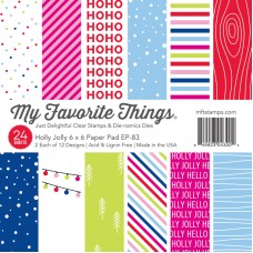 My Favorite Things - Holly Jolly Paper Pad