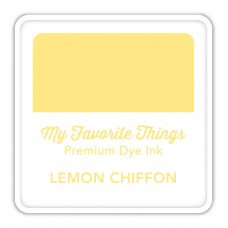 My Favorite Things - Premium Dye Ink Cube Lemon Chiffon