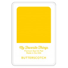 My Favorite Things - Premium Dye Ink Pad Butterscotch