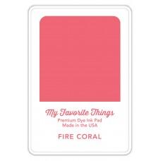 My Favorite Things - Premium Dye Ink Pad Fire Coral