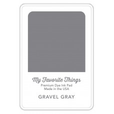 My Favorite Things - Premium Dye Ink Pad Gravel Gray