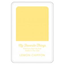 My Favorite Things - Premium Dye Ink Pad Lemon Chiffon