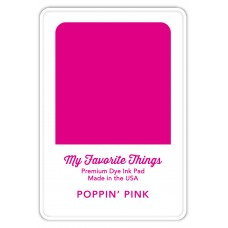 My Favorite Things - Premium Dye Ink Pad Poppin' Pink
