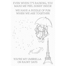 My Favorite Things - Rainy Day Friends Bundle (stamp and dies)