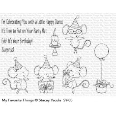 My Favorite Things - It's a Mice Time to Celebrate Bundle (stamp and dies)