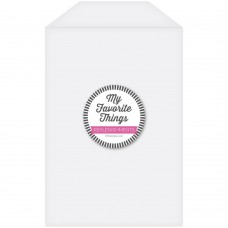 My Favorite Things - Clear Storage Pocket - Extra Large (25 pack)