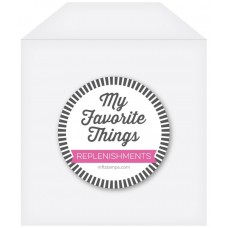 My Favorite Things - Clear Storage Pocket - Small (50 pack)