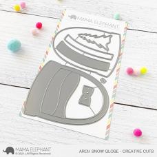 Mama Elephant - Arch Snow Globe Cover Creative Cuts