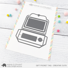 Mama Elephant - Gift Pocket Tag Creative Cuts