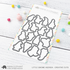 Mama Elephant - Little Gnome Agenda Creative Cuts