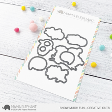 Mama Elephant - Snow Much Fun Creative Cuts