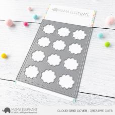 Mama Elephant - Cloud Grid Creative Cuts