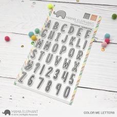 Mama Elephant - Color Me Letters