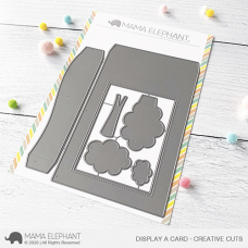 Mama Elephant - Display a Card Creative Cuts