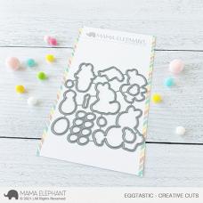 Mama Elephant - Eggtastic Creative Cuts