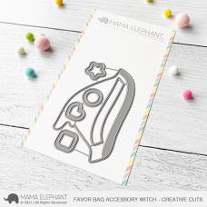 Mama Elephant - Favor Bag Accessory Witch Creative Cuts