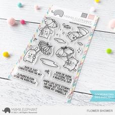 Mama Elephant - Flower Shower