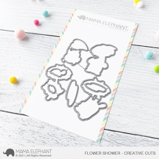 Mama Elephant - Flower Shower Creative Cuts