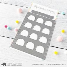 Mama Elephant - Globies Grid Cover Creative Cuts