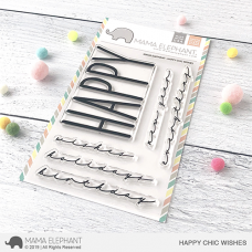 Mama Elephant - Happy Chic Wishes