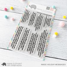 Mama Elephant - Inside Holiday Messages