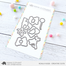 Mama Elephant - Koala Hugs Creative Cuts