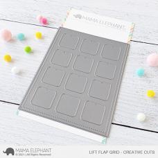 Mama Elephant - Lift Flap Grid Creative Cuts