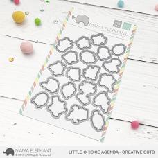 Mama Elephant - Little Chickie Agenda Creative Cuts