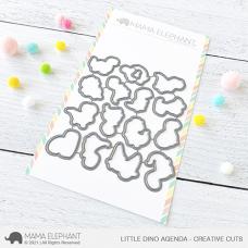 Mama Elephant - Little Dino Agenda Creative Cuts