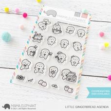 Mama Elephant - Little Gingerbread Agenda