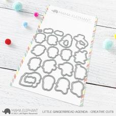 Mama Elephant - Little Gingerbread Agenda Creative Cuts