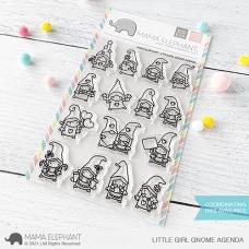 Mama Elephant - Little Girl Gnome Agenda
