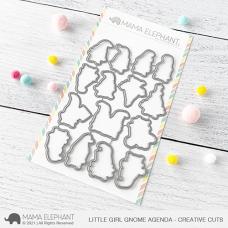 Mama Elephant - Little Girl Gnome Agenda Creative Cuts