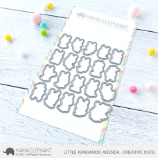 Mama Elephant - Little Kangaroo Agenda Creative Cuts