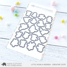 Mama Elephant - Little Koala Agenda Creative Cuts